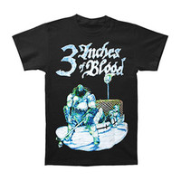 3 Inches Of Blood Men's  Hockey T-shirt Black