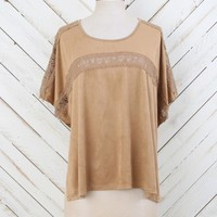 Altar'd State Suede Romance Top | Altar'd State