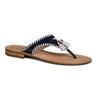 Alana Sandal in Midnight Navy and White by Jack Rogers