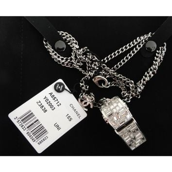 Chanel Whistle Swarovski Crystal Limited Edition 2015 Necklace