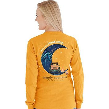 Simply Southern Preppy Moon Child Jeep Long Sleeve T-Shirt