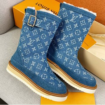 LV New autumn and winter boots