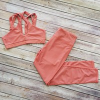 Count Me In Fitness Yoga Set Two Piece
