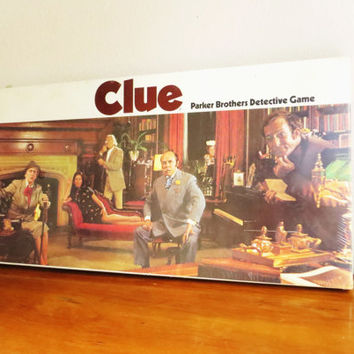 Unopened Vintage 1972 Clue Board Game, NIB Clue Game, Collectible Game