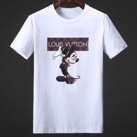 Louis Vuitton Fashion Casual Shirt Top Tee-52
