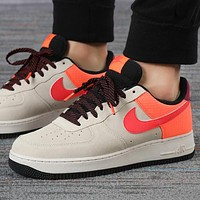 Alwayn Nike Air force 1 Low New fashion hook couple running shoes