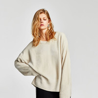 CHENILLE SWEATER DETAILS