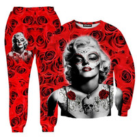 Marilyn Monrose Tattoo Tracksuit