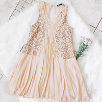Alexa Blush Dress