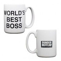 The Office Dunder Mifflin World's Best Boss Coffee Mug