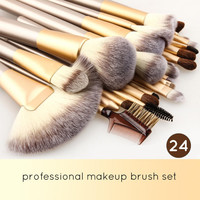 Professional 24pcs Makeup Brush Setes Set Cosmetic Tool Beauty + Brushs Bag