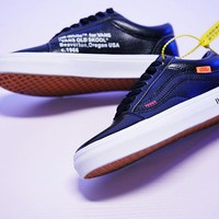 "Virgil Abloh OFF-WHITE x Vans Old Skool ""OW""VN-0D3HY28"