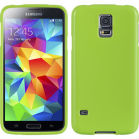DW Premium Candy Skin TPU Case for Samsung Galaxy S5 - Green Apple