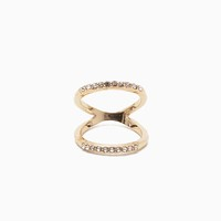 RS Pave Open Space Knuckle Ring