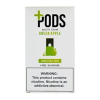 Plus Pods Green Apple Pack of 4
