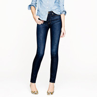 Midrise toothpick jean in carbon