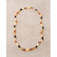Amber Multi Color Necklace - 18 inch