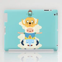 Adventure Totem | Adventure Time iPad Case by Daniel Mackey