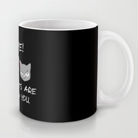 Killer Cats Are Watching Mug by Twin Ring Design