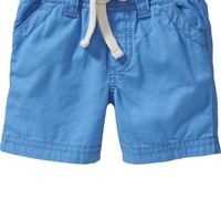 Old Navy Pull On Khaki Shorts For Baby