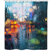 Beautiful and unique shower curtain