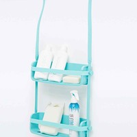 Flex Shower Caddy in Turquoise - Urban Outfitters