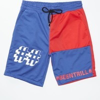Been Trill Mesh Shorts - Mens Shorts - Blue