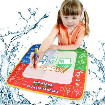 Creative Kids Toys Water Drawing Painting Writing Mat Board+Magic Pen 49*49 19381 Baby = 1745596932