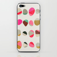 Painted Pebbles 1 iPhone & iPod Skin by Garima Dhawan