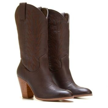Women S Cowboy Wide Calf Boot From Famous Footwear Things I