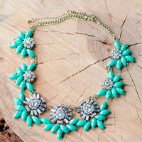THE ANNA NECKLACE IN JADE - Default