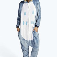 Cindy Owl Hooded Onesuit