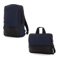 The Navy Hank & Trace Backpack and Messenger Bag Bundle