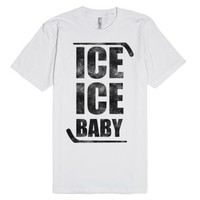 Ice Ice Baby-Unisex White T-Shirt