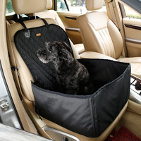 "Car Cushion for Dogs -Thick Waterproof Dog Travel Seat Size: 18"" x 18"" x 23"""