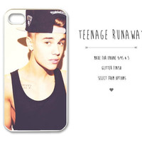 Justin Bieber Apple iPhone 4/4S & 5 Case Cover by TeenageRunaway