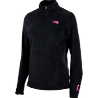 The North Face Women's Pink Ribbon Glacier Quarter Zip Pullover