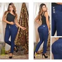 100%  Authentic Colombian  Push Up  Jeans  7748  by Magic Jeans