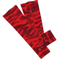 Digital ripped red camo arm sleeve  (No Refunds - No Exchanges)