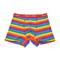 Colorful Mens underwear Rainbow boxers gay pride rainbow stripes