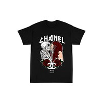 """""""COCO"""" Tour Tee in Black"""