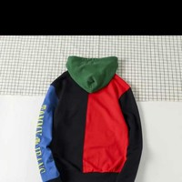 The latest hooded spell color sweater