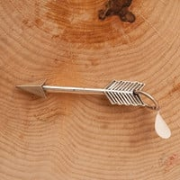 Sterling Silver Arrow Pendant