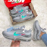 OFF-White x Nike Air Max 97 Menta Sneakers