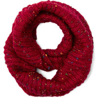 Pigments of My Imagination Circle Scarf in Red | Mod Retro Vintage Shawls | ModCloth.com