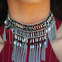 So Jazzy Choker: Black/Silver