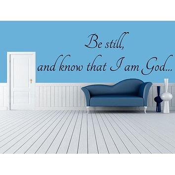 Purchase Be Still and Know that I am God
