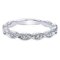 "Gabriel ""Sadie"" Diamond Wedding Band"