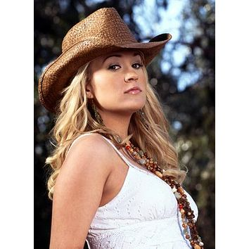 Carrie Underwood Sassy Cowboy Hat 11 inch x 17 inch poster
