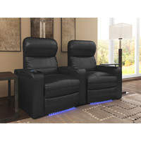 OctaneSeating Turbo XL700 Home Theater Recliner (Row of 2)